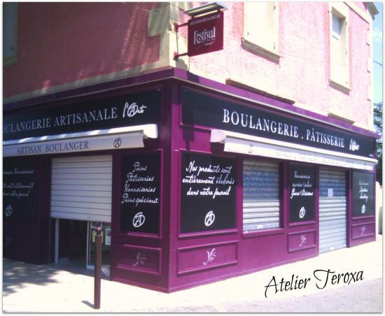 Enseigne Boulangerie Arto