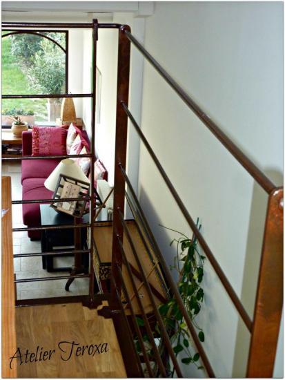 Rampe + escalier 1