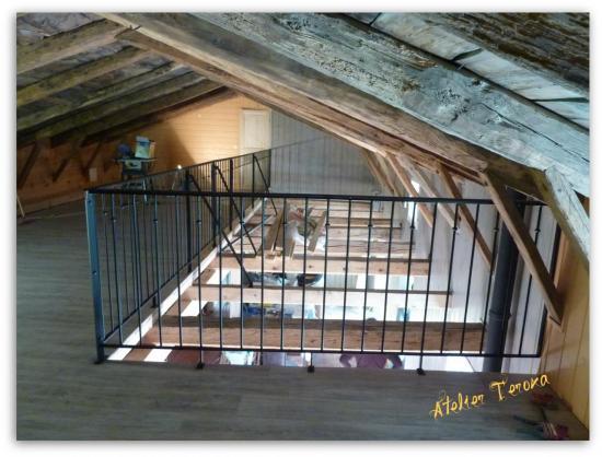 Rampe mezzanine 1